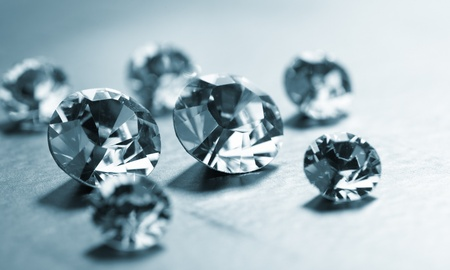 desirable: nice diamonds Stock Photo