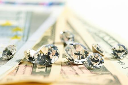 diamonds and money