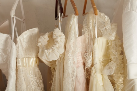 cloth back: wedding background