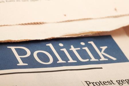 Politics news. photo