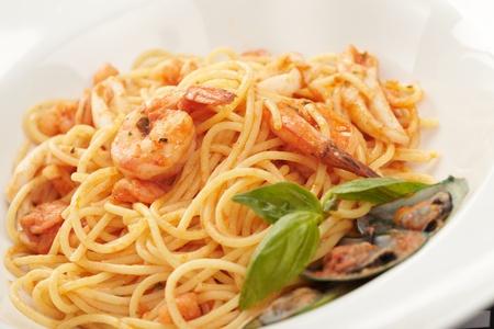 Pasta with Shrimps photo