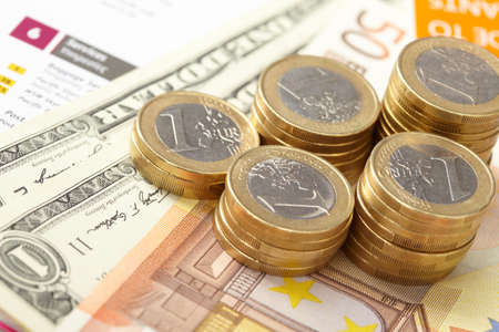 money on the table Stock Photo - 12533740