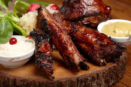 heerlijke BBQ ribben