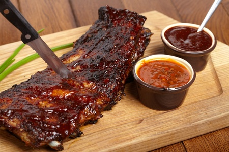 barbecue pork barbecue: delicious BBQ ribs