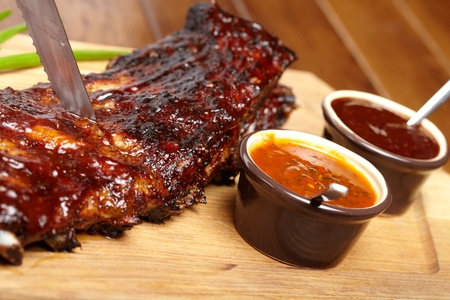 delicious BBQ ribs Stock Photo - 13028559