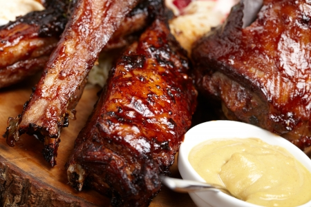 zesty: delicious BBQ ribs