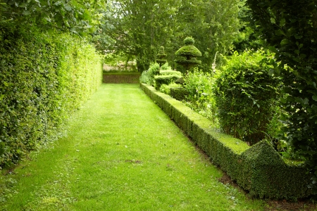 show garden: beautiful park Stock Photo