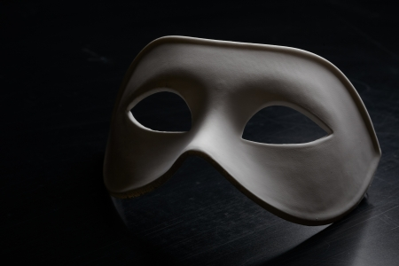 white mask photo