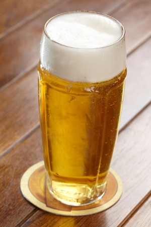 froth: beer with froth