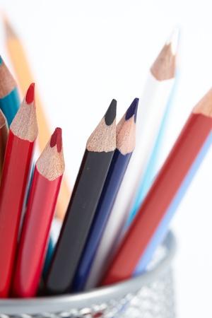 Set of color pencils Stock Photo - 16197210