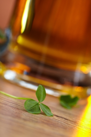 clover and beer  Stock Photo - 16200299