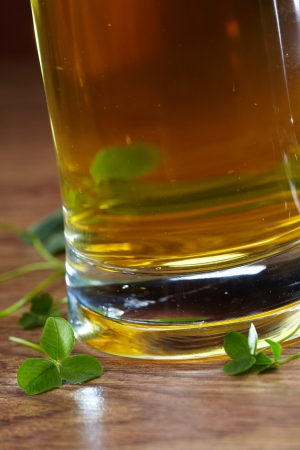 clover and beer Stock Photo - 16290404