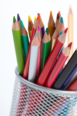 Set of color pencils Stock Photo - 16725190