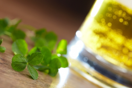 clover and beer  Stock Photo - 16725301