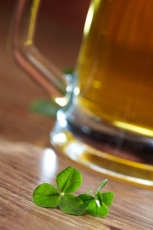 clover and beer  Stock Photo - 16725337