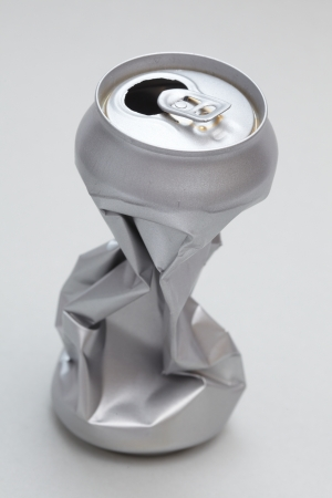 Crushed Aluminum Can photo