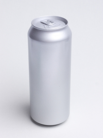 beer can: aluminum can