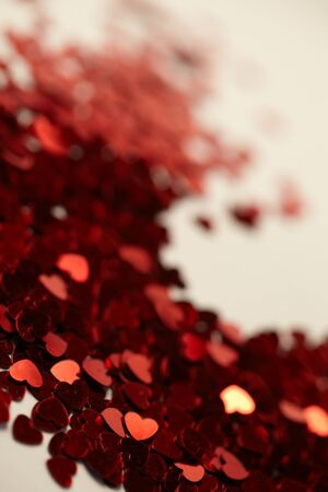 hearts confetti  photo
