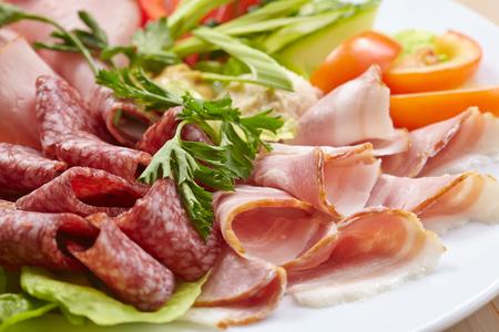 deli meat: meat appetizer