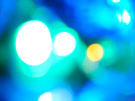 blurring: blurring lights