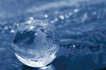 glass globe photo