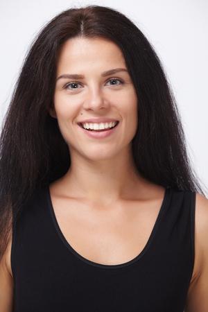dishevel: nice women Stock Photo