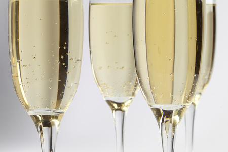 flauta: copas de champán
