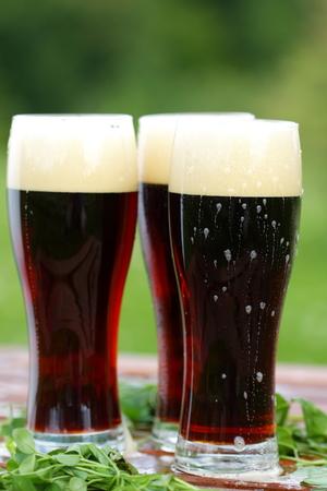 root beer: beer Stock Photo