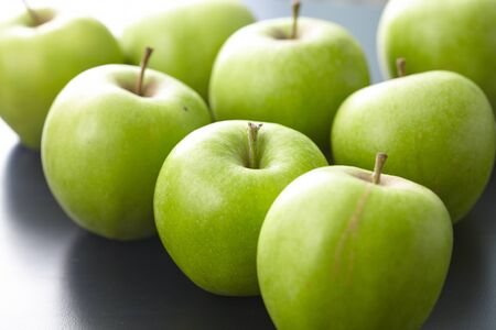 green apples: green apples