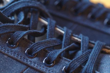 shoe string: Sport shoes