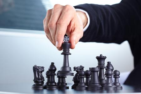 chess: Empresario de juego juego de ajedrez