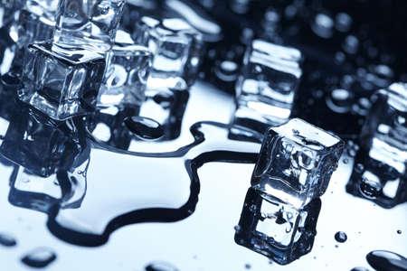 icecubes: wet ice cubes
