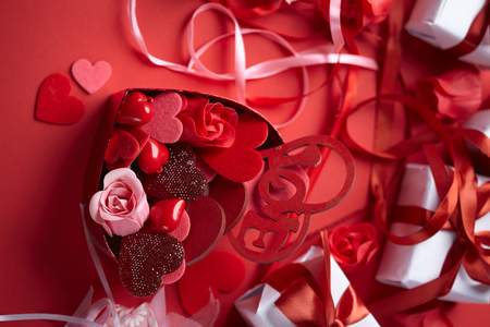angel roses: Valentines day
