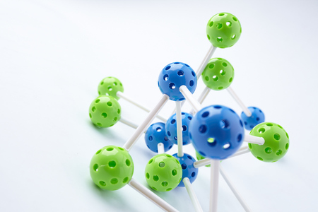 structure: Molecular Structure Stock Photo