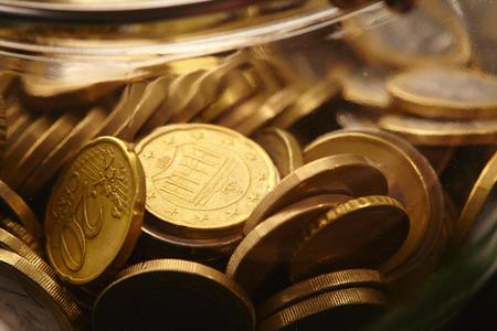euro coins: euro coins Stock Photo