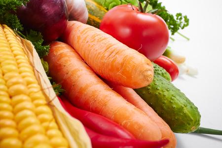 garden stuff: fresh vegetables Stock Photo