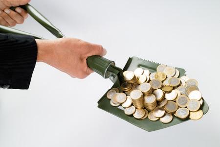 remuneration: Shovel up money