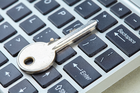 backlit keyboard: key on the keyboard