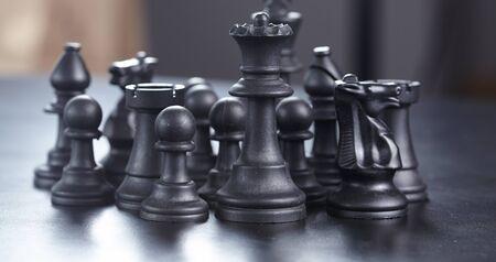 black: black chess