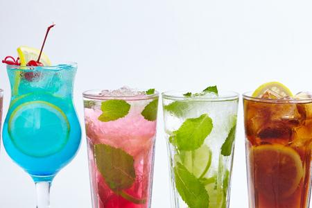 cocteles de frutas: bebida de verano