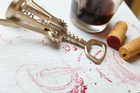 wine stains: wine stains on the wood background