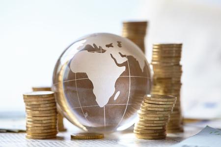 capital gains: business concept