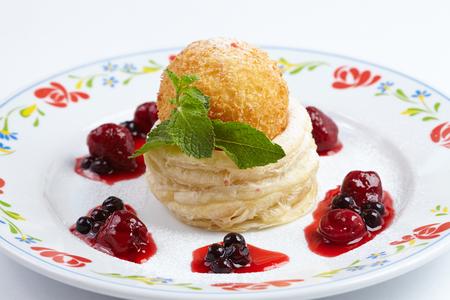 french dessert Stock Photo