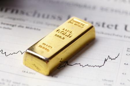 salarios: Concepto de la barra de oro