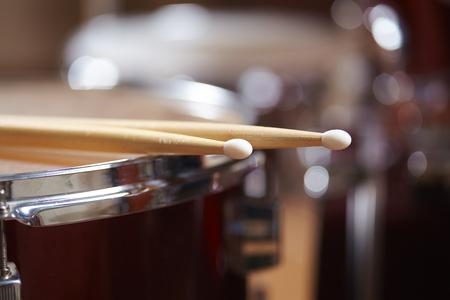 Drums conceptual image Imagens