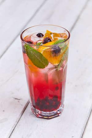 icecubes: summer drinks Stock Photo