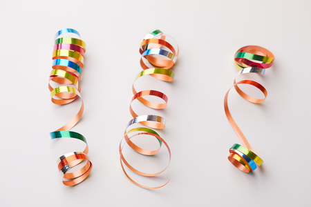 holiday ribbons Stock Photo