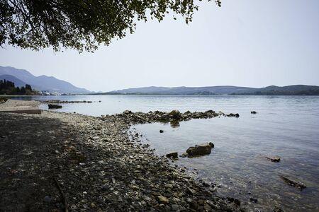 beautiful landscape in the Montenegro 写真素材