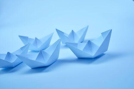 Papierschiffe