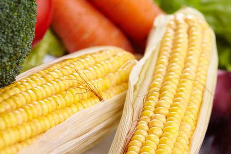 fresh vegetables on the white background Stock fotó